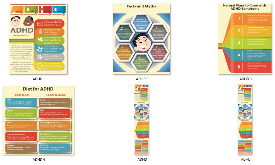 ADHD PLR Infographics
