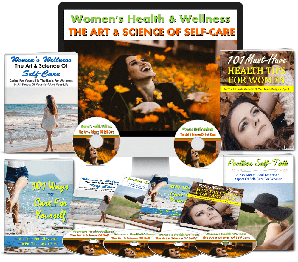 Women's Health & Wellness Self Care PLR Mega Package