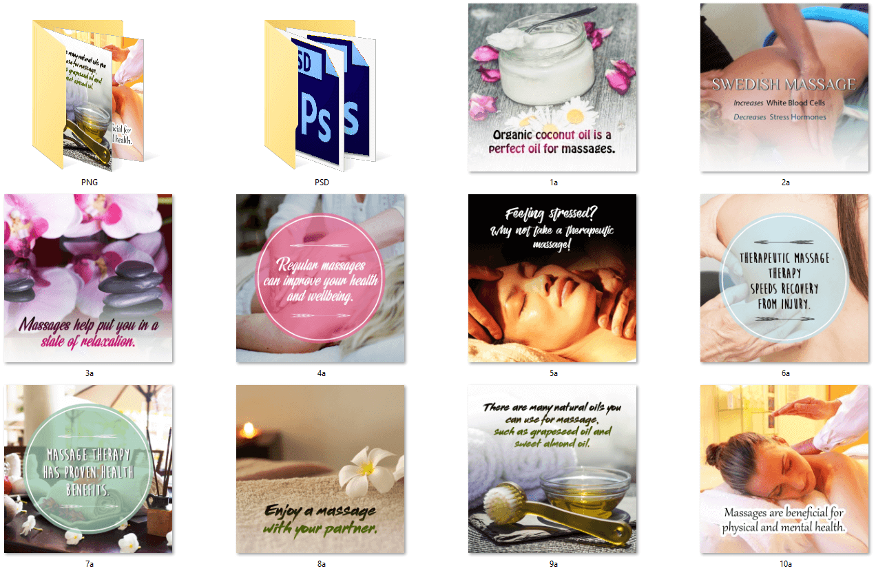 Women's Self Care PLR Social Posters