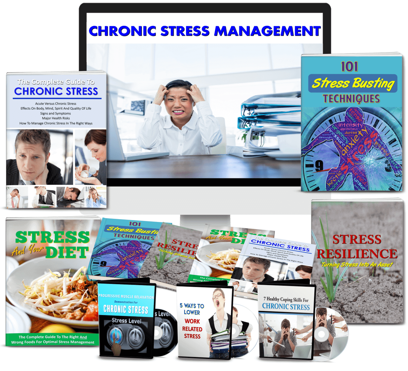 Chronic Stress Management PLR package