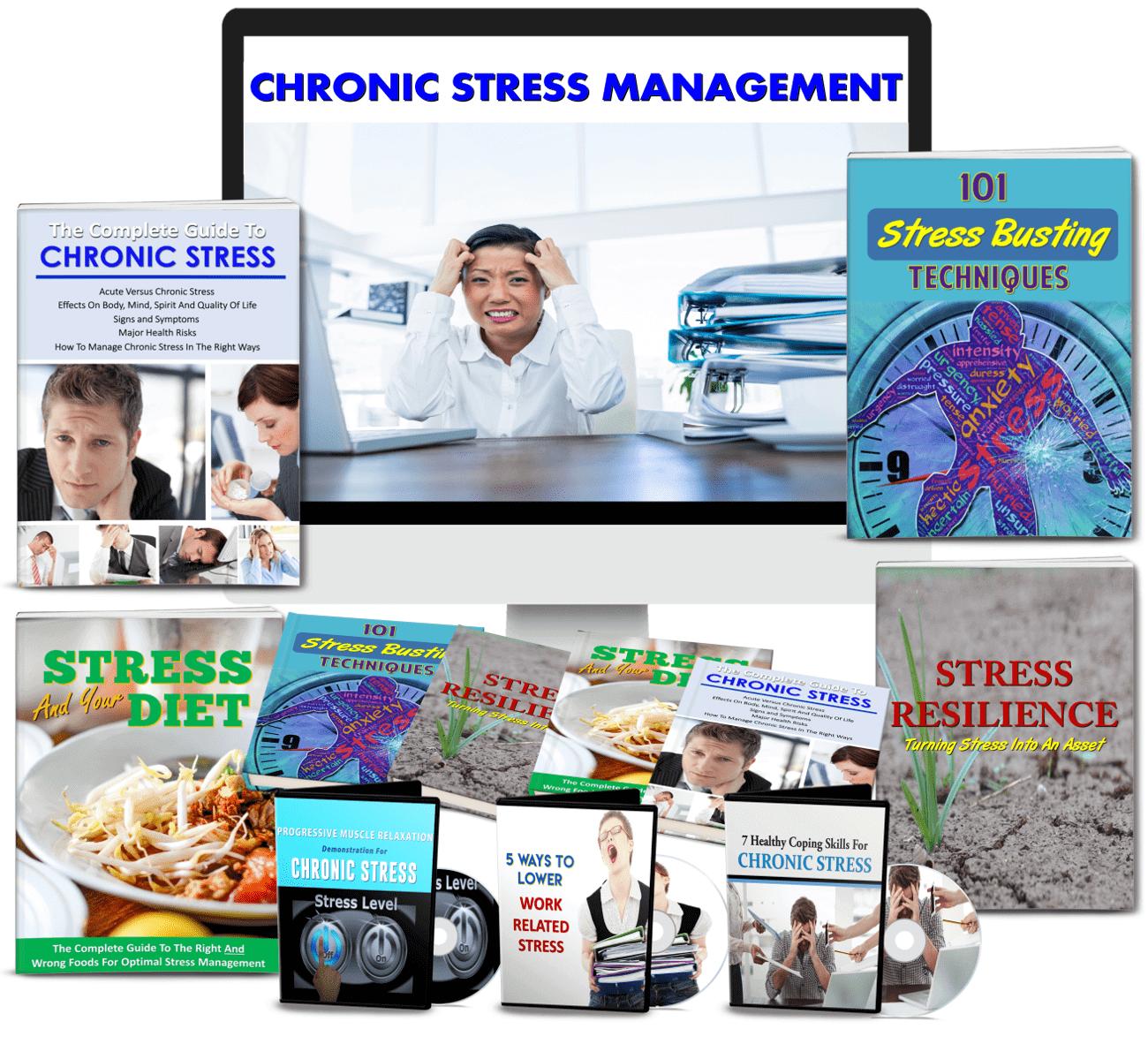 Chronic Stress Management PLR package