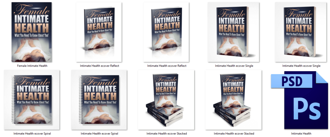 Female Intimate Health PLR eCovers