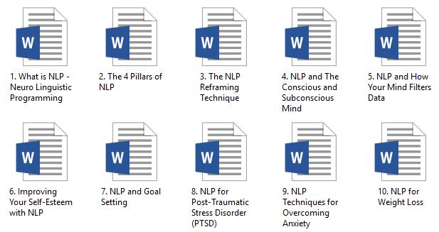 NLP PLR Articles