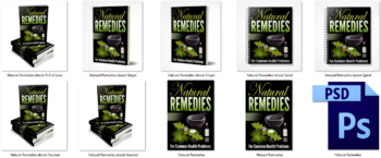Natural Remedies PLR eBook Covers