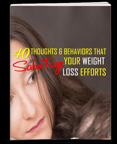 Behaviors That Sabotage Weight Loss Efforts PLR eBook