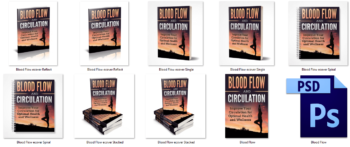 Blood Flow and Circulation PLR eBook Covers