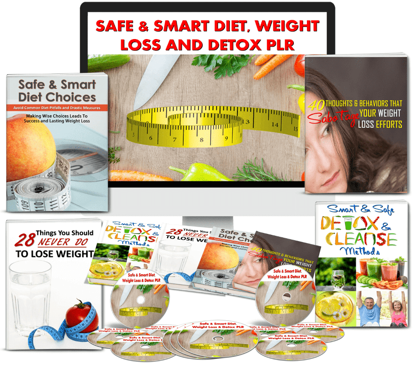 Diet, Weight Loss and Detox PLR