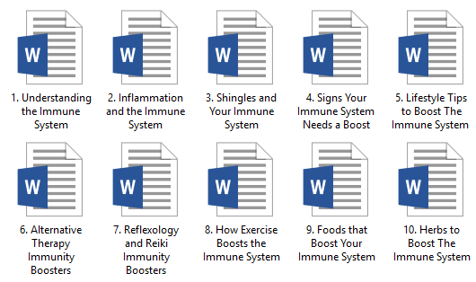 Immune PLR Articles