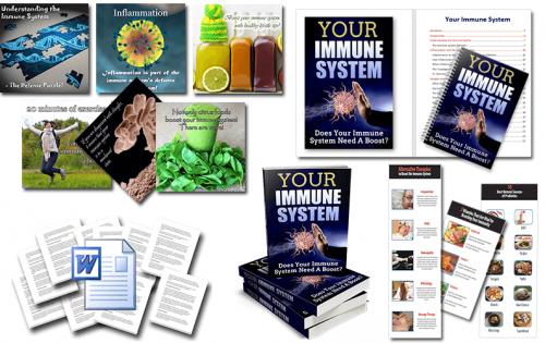 Immune System PLR Package