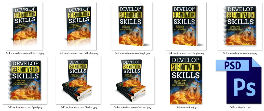 Motivation PLR eBook Graphics