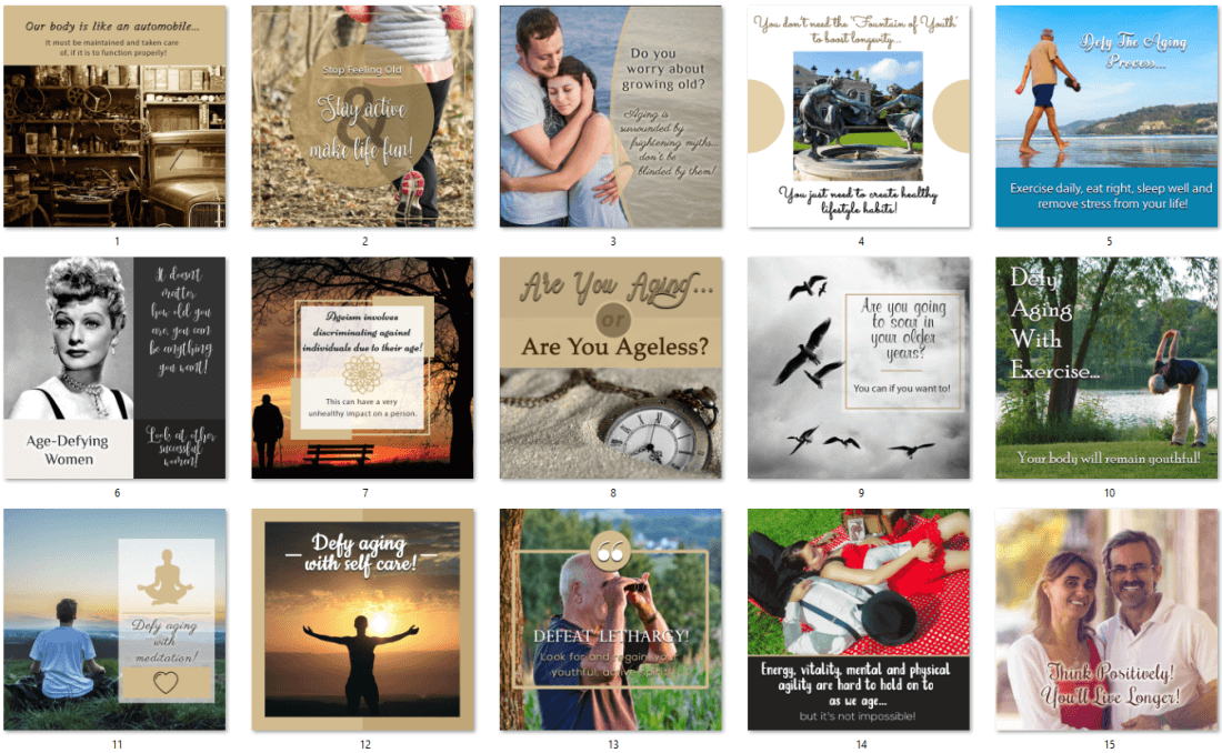 Aging - Relationships are Key PLR Bonus Social Posters Upgrade Offer