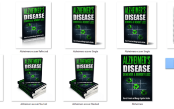 Alzheimer's and Dementia PLR eCover Graphics