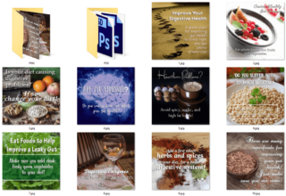 Digestive Health PLR Social Posters