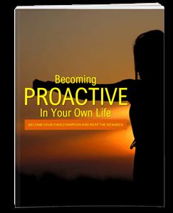 Become Proactive PLR eBook