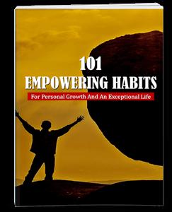 Empowering Habits PLR eBook