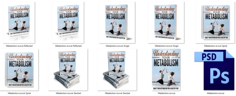 Metabolism eCover Graphics PLR