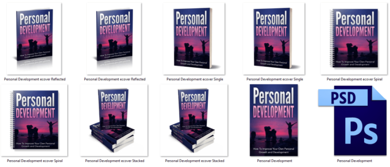 Personal Growth eCover Graphics PLR