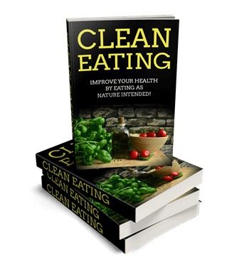Clean Eating PLR eCover Graphic