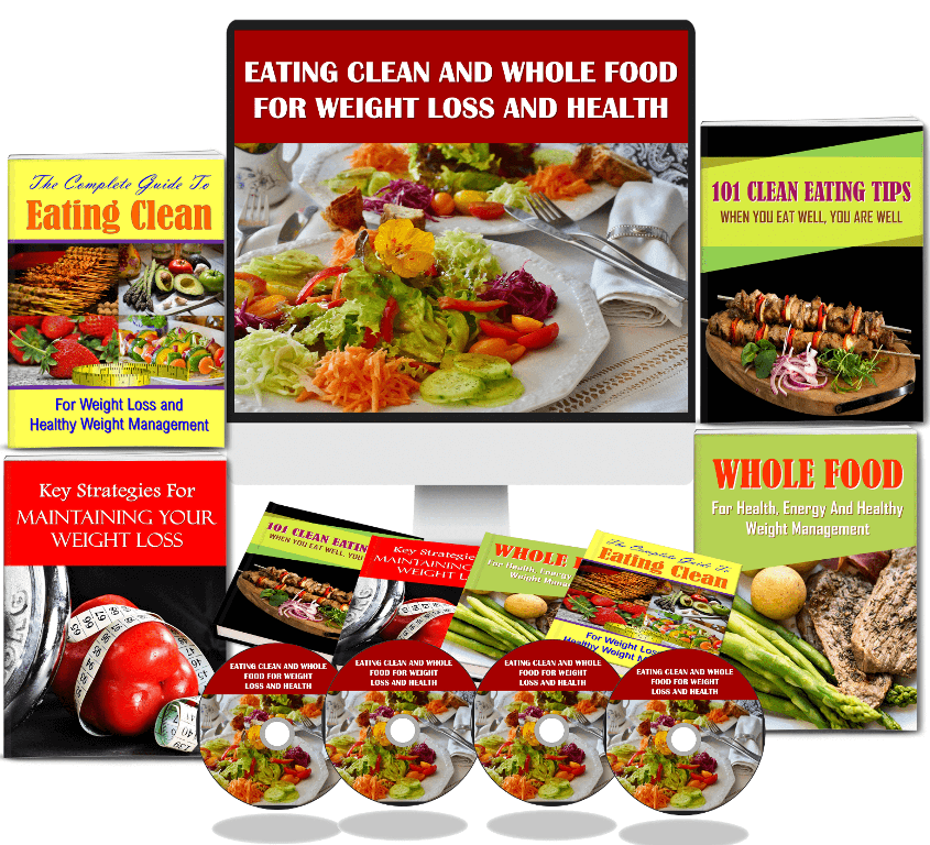 Eating Clean PLR Package