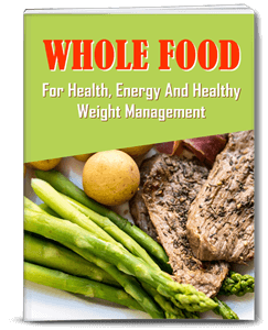Whole Food for Weight Management PLR Report