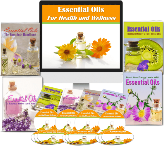 Essential Oils for Health and Wellness PLR package