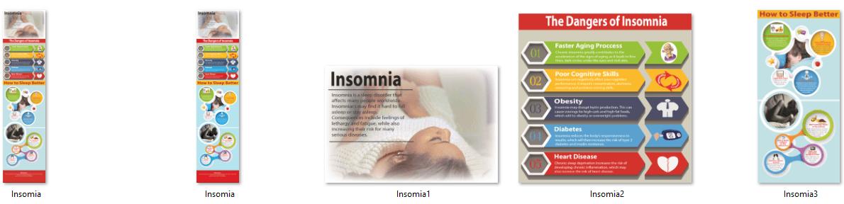 Insomnia PLR Infographics