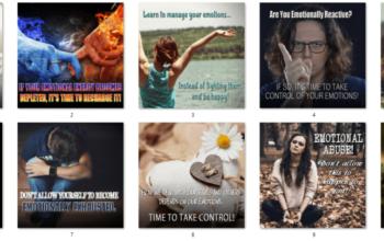 Emotional Health PLR Social Posters