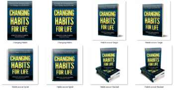 Changing Habits PLR eBook Cover Graphics
