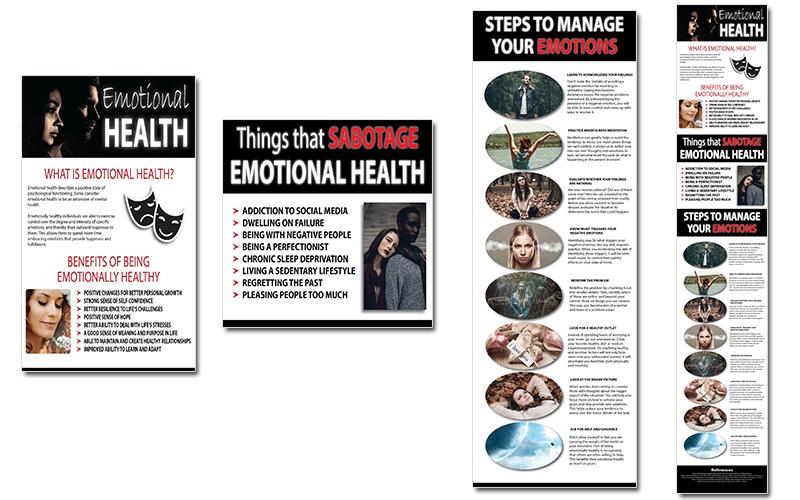 Emotional Health PLR Infographics
