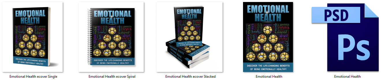 Emotional Health PLR Report eCovers