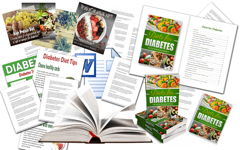 Diabetes Diet PLR Package