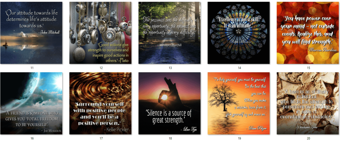 Self Improvement Quote Posters 4