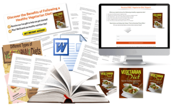 Vegetarian Diets PLR Package