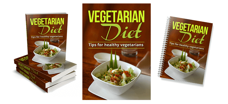 Vegetarian Diets PLR eCover Graphics