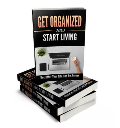 Being More Organized PLR eBook