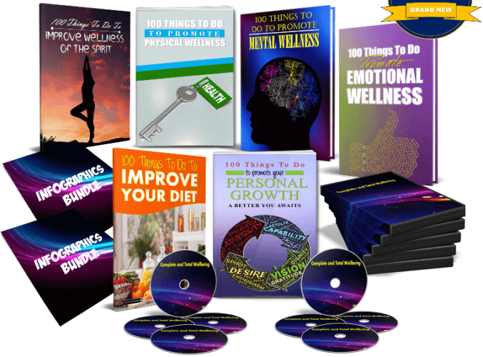 Complete and Total Wellbeing PLR