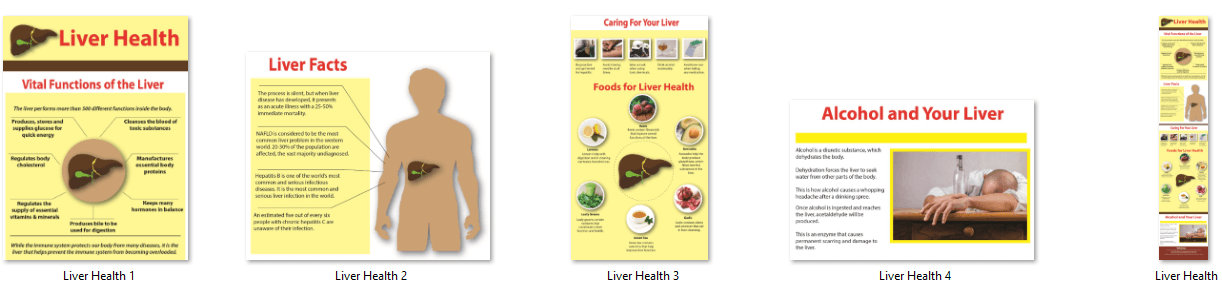 Liver Health Infographic