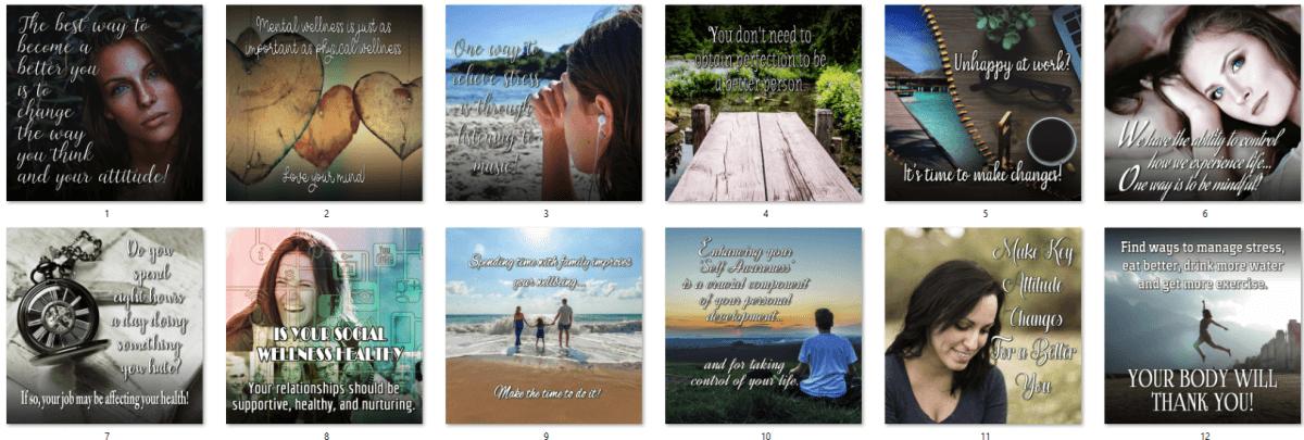 Total Wellness PLR Social Posters BONUS 3