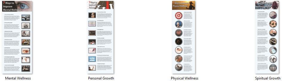 Wellness Infographics