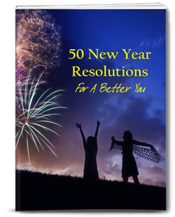 50 New Year Resolutions For A Better You PLR Report