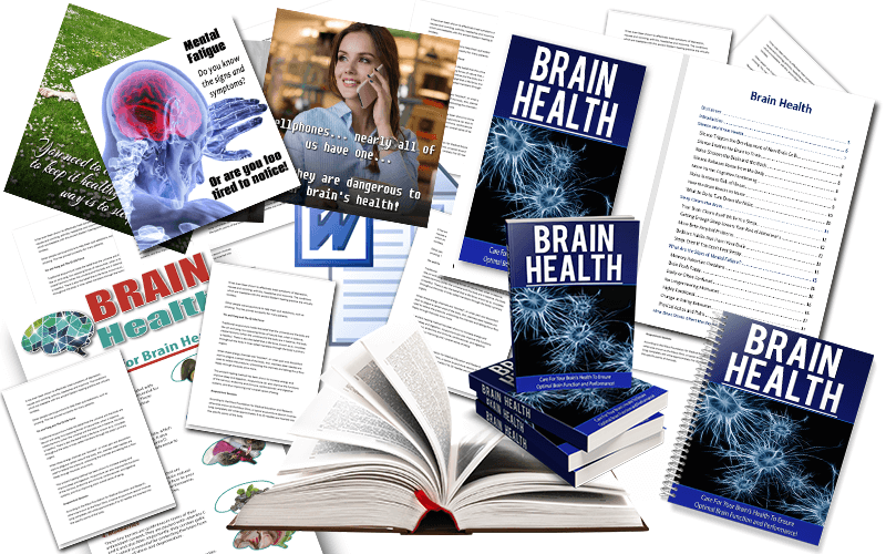 Brain Health PLR Package