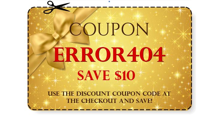 Error404 Coupon
