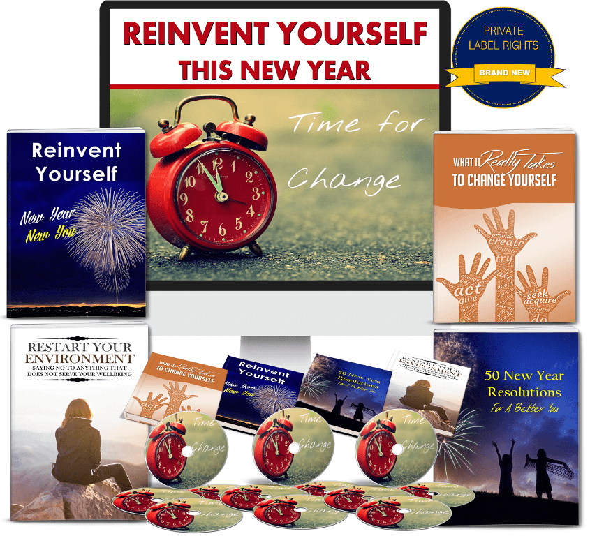 Reinvent Yourself PLR Package