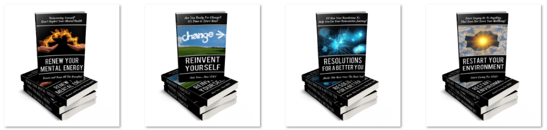 Reinvent Yourself PLR eCovers 1