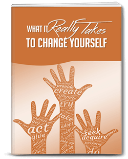 What It Really Takes To Change Yourself PLR Report