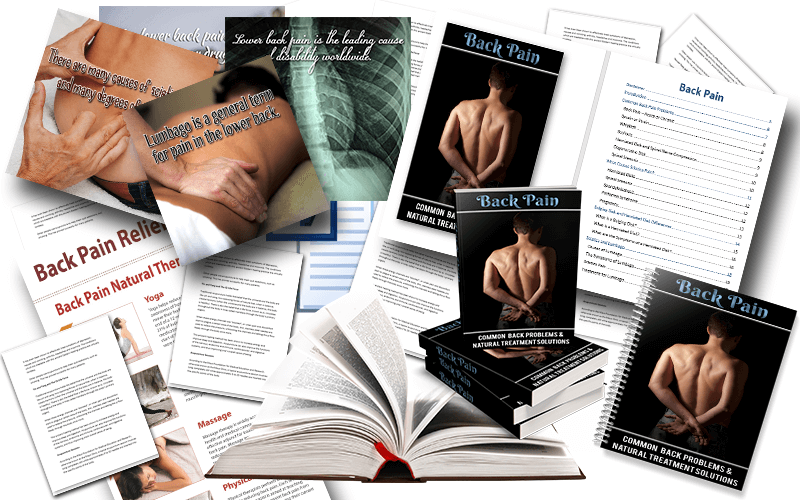Back Pain PLR Package