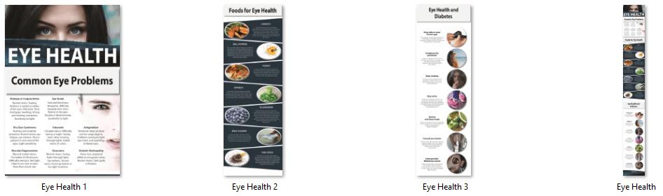 Eye Health PLR Infographic