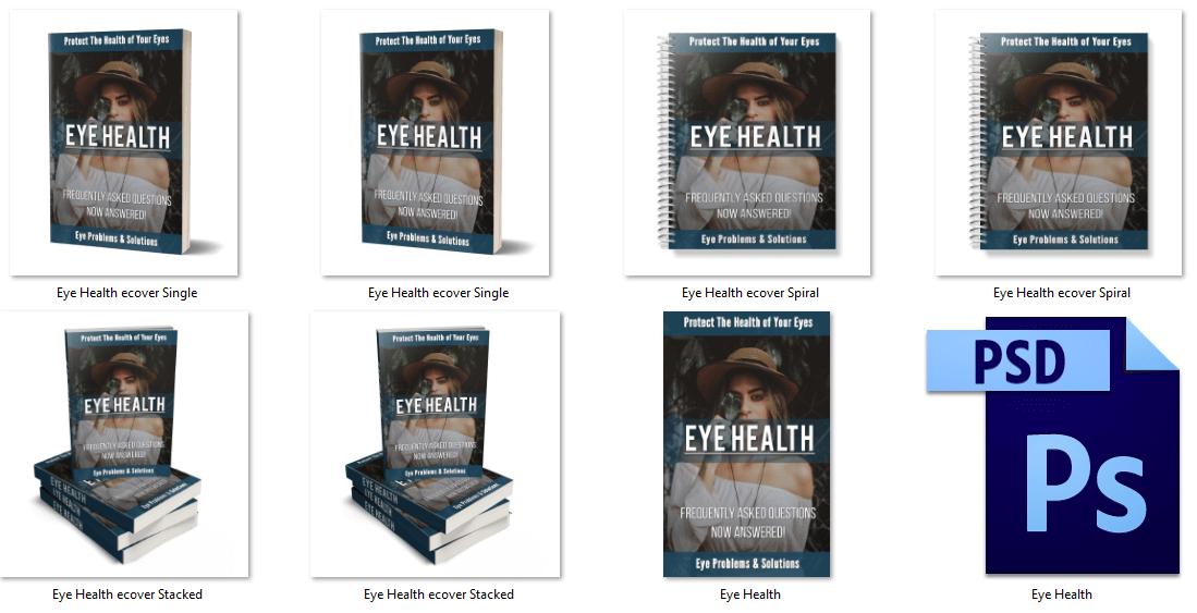 Eye Health PLR eCover Graphics