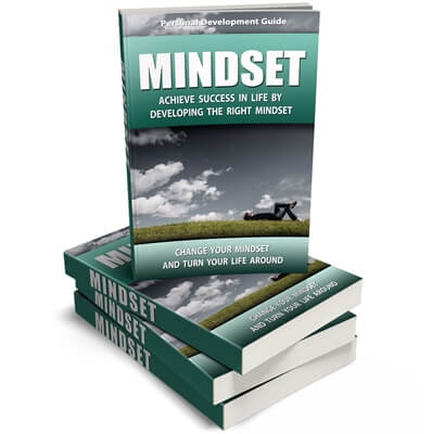 Mindset PLR eBook Cover Graphic