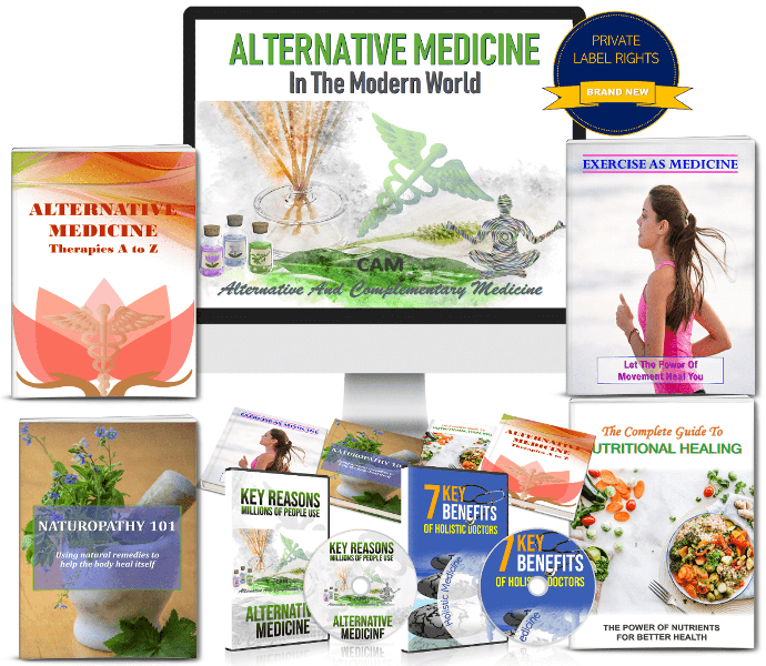 Alternative Medicine PLR Package